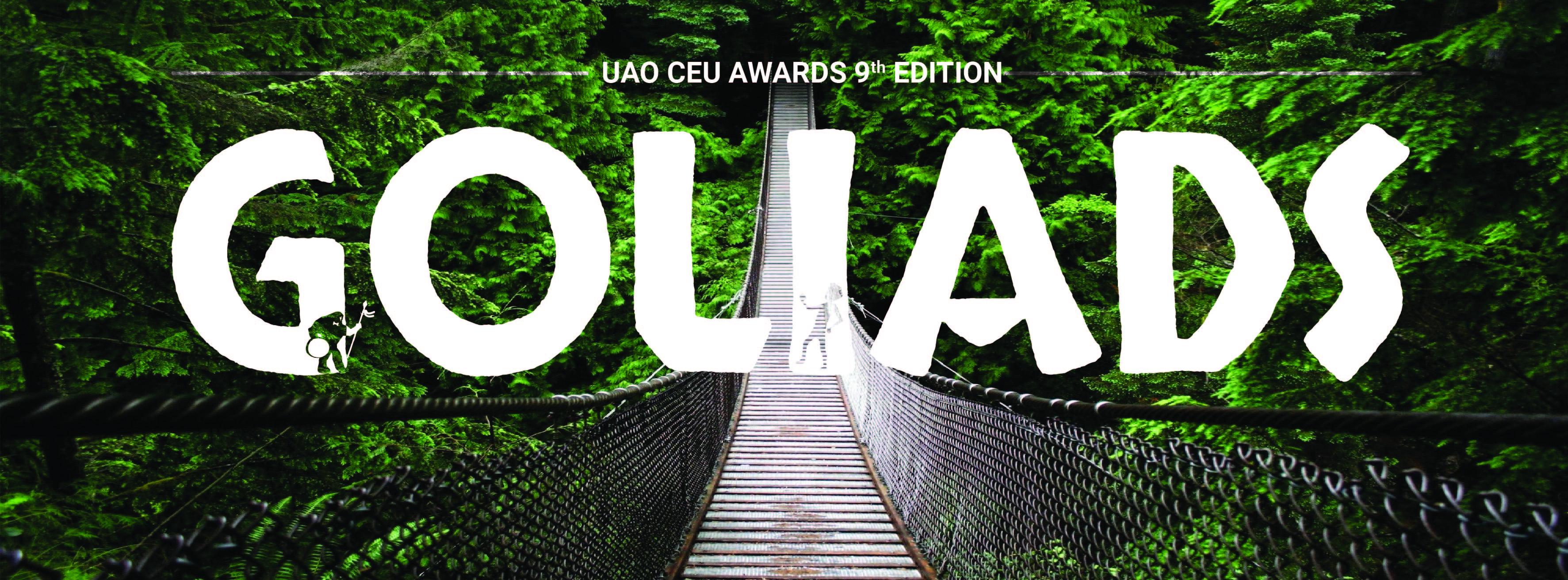 Bienvenido a la 9º edición de los GoliADs UAO CEU Awards
